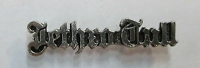 JETHRO TULL VINTAGE METAL LAPEL PIN NEW FROM LATE 80'S HEAVY METAL wow