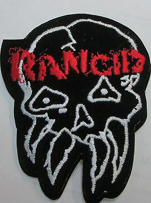 Rancid Collectable Rare Vintage Patch Embroided 90's Metal Punk Live
