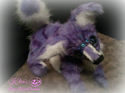 "OOAK ""ketsy"" night guardian cub art doll"