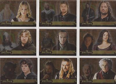 """Lord of the Rings Evolution - """"Evolution A"""" Set of 20 Chase Cards 1-20A"""