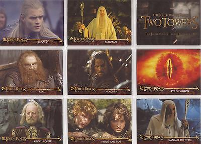 Lord of the Rings The Two Towers - Cadbury's Promo Set of 20 Cards C1-20