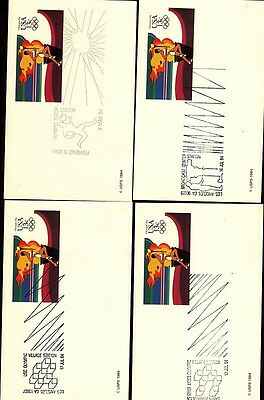 Postal Cards (38): 1984 Olympic Events