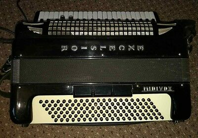 Excelsior Midivox Series 2 120 Bass 4 voice accordion