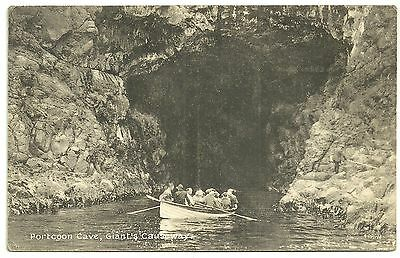 Ireland Co Antrim  postcard Portcoon cave Giants Causeway