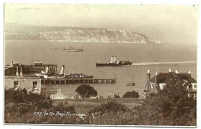 Dorset postcard Swanage In The Bay