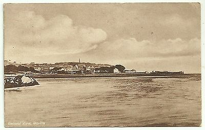 Ireland Co Donegal postcard Moville General view
