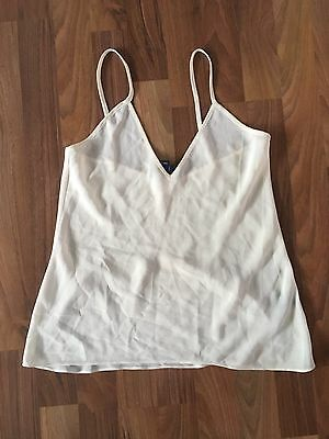 Vintage Ecru Ivory Camisole/ Size Small