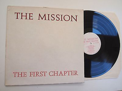 THE MISSION - FIRST CHAPTER LP EX VINYL UK Goth Serpents Kiss Garden of Delight