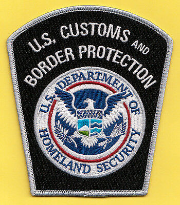L26 * Color Hsi Homeland Federal Agency Dhs Ice Fbi Police Patch Washington Dc