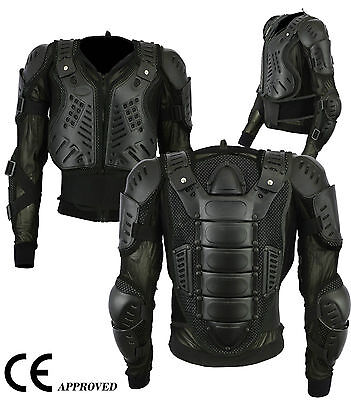 Motorcycle Motorbike Protection Jacket Body Armour Guard Protector CE Approved