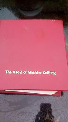A-Z of machine knitting
