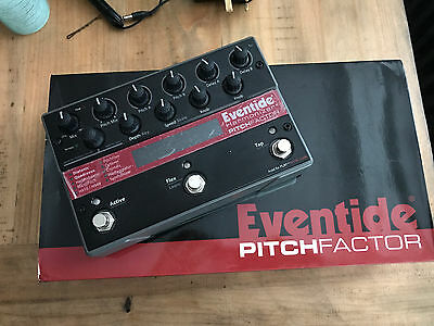 Eventide PitchFactor Harmonizer Guitar Effects Pitch Pedal
