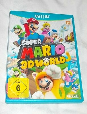 Nintendo Wii U Spiel Super Mario 3D World