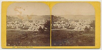 VERMONT SV - Montpelier Panorama - AF Styles 1860s