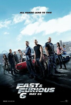 Fast & Furious 6 Ultraviolet UV Digital HD Code Only