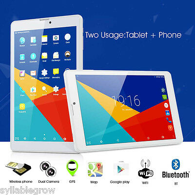 "Teclast P80 8"" 4G Tablet PC Android 5.1 Quad Core Tableta 16GB Dual WIFI Cámara"