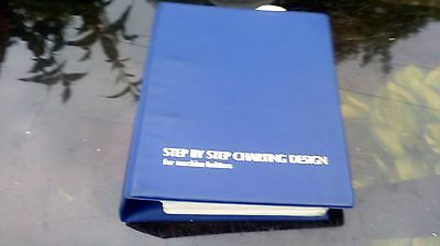 step by step charting design for machine knitters