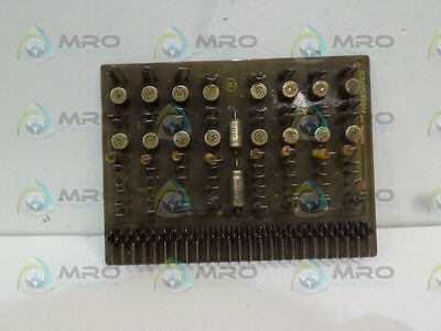 General Electric Ic3600Lrdd1A Relay Driver Board *used*