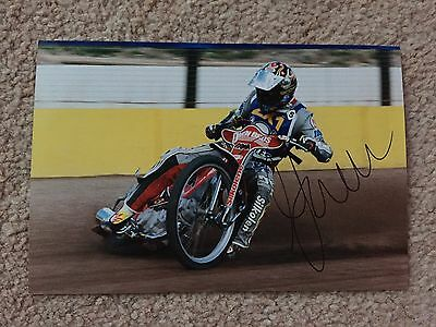 Mark Loram 1999 Signed Speedway Photo