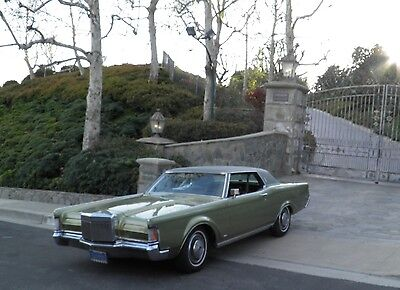 1970 Lincoln Continental Vinal Top 1970 Lincoln Continental Mark III