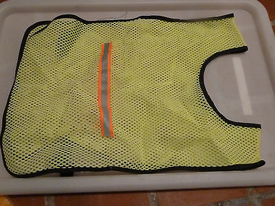 Reflective Hi Vis cycling over vest - medium