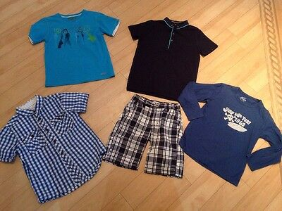boys summer clothes bundle age 7-8 next ted baker river island