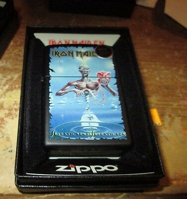 Iron Maiden Zippo Lighter Authentic 2016 Licensed Rock N Roll Dickerson