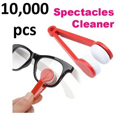 10000 Lot Microfiber Cleaner for Eyeglass Sunglasses Spectacles, up to 5 colors