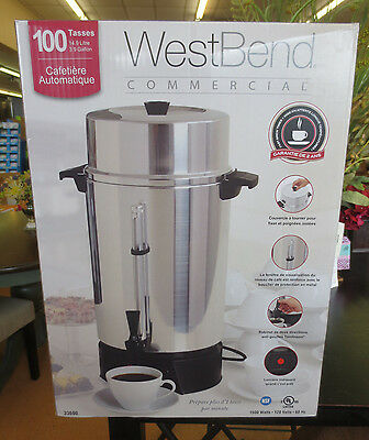 WestBend West Bend Commercial 100 Cup Automatic Coffee Maker 33600