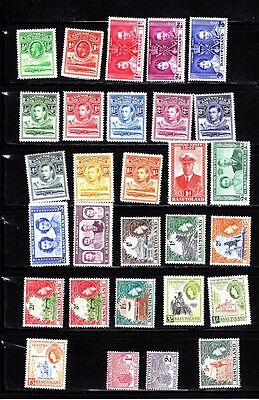 Stamps: Basutoland Mint Collection