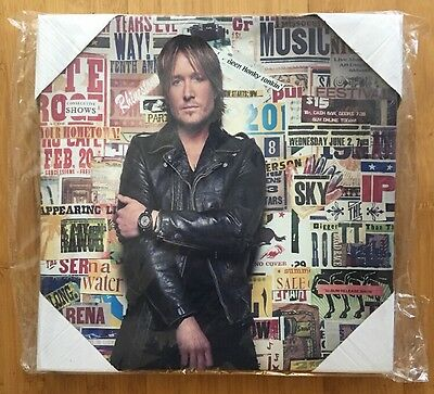 Keith Urban New Ripcord Canvass Photo Collectable