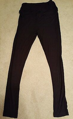 Next Maternity Over Bump Leggings Size 10