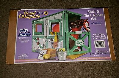 NEW Grand Champion Horse Stall & Tack Room Accessories Fits Breyer Classic