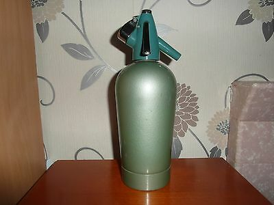 Vintage/retro 60's 70'sparklets Limited  Soda Syphon In Green And Black Top
