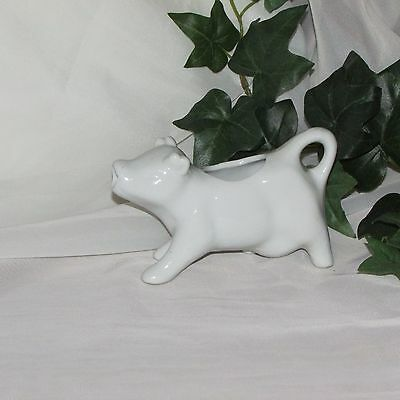 White Cow Creamer Ceramic Cream Pitcher Farm Animal Kitchen Ware Home Decor Cute