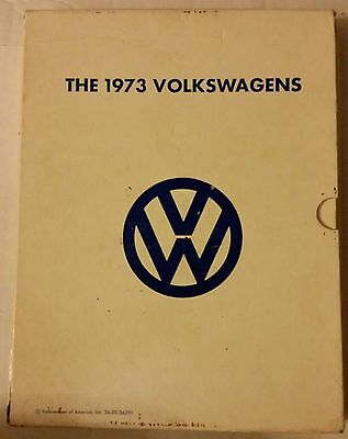 1973 Vw Volkswagen Sales Manuals Super Beetle Kombi Karmann Ghia Campmobile