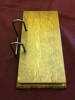 Antique Wood Covered General Store Ledger/ Receipt Book