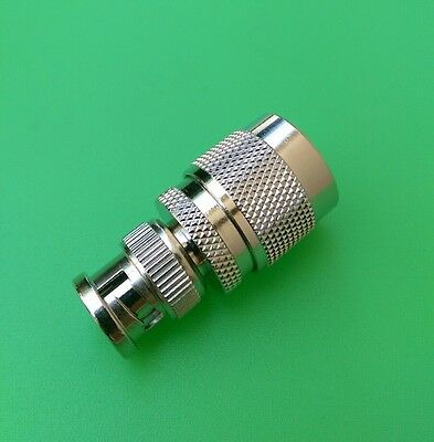 (10 PCS) BNC Male to N Male Connector - USA Seller