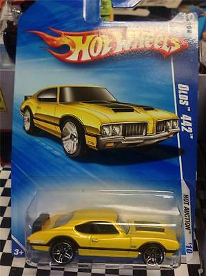 "2010 Hot Wheels ""olds 442""--Yellow---Vhtf!!!!"