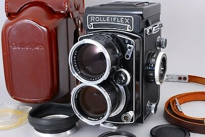 TOP MINT   ROLLEIFLEX TELE ROLLEI SONNAR 135mm F4 WHITE FACE TLR From Japan 479