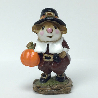 PETER PUMPKIN By Wee Forest Folk, 1984, Retired in 1992! WFF# M-118 EXCELLENT!