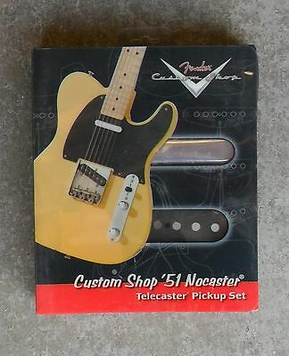 Brand New Fender Custom Shop 51 Nocaster Pickup Set Telecaster Pickups Tele