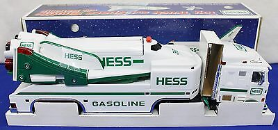 1999 Hess Toy Truck Space Shuttle with Satellite