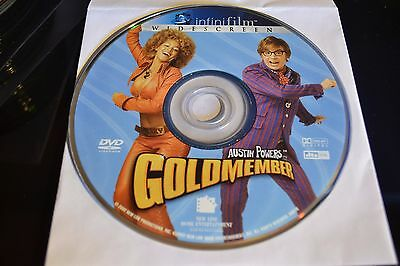 Austin Powers in Goldmember (DVD, 2002, Widescreen)Disc Only 8-94