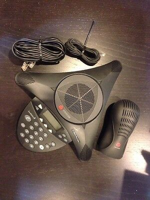 Polycom Soundstation 2  Professional Conference Call System With Power Supply