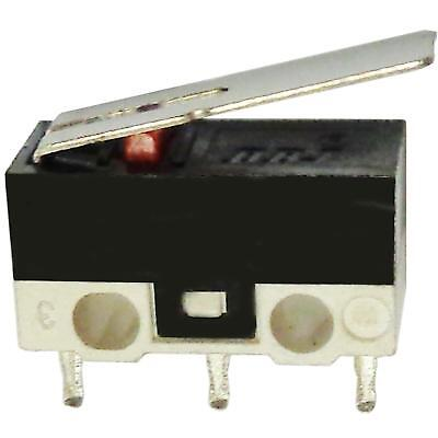 SPDT Miniature Microswitch 1Circuit 2A 125V on-on Long Lever