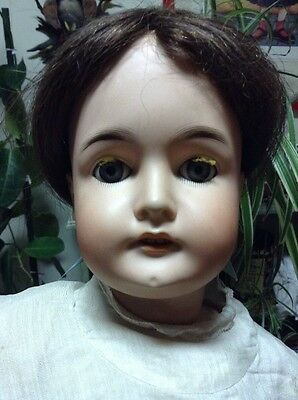 Antique German Doll 24 1/2 Inches Tall