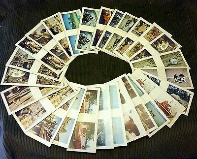1960's VINTAGE COLLECTOR CARDS X 27 (15 LIPTON TEA 3D CARDS & 12 WEETBIX 3D) VGC