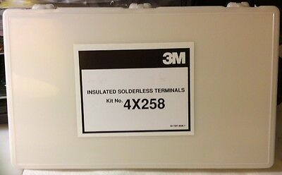 3M Insulated Solderless Wire Terminal Kit, #4X258, New