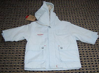 Timberland Baby Boys Hooded Jacket Sz 6 Months New With Tags